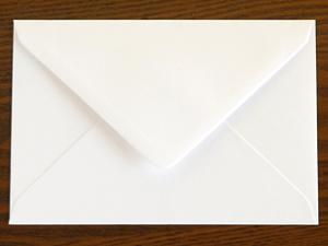 カードの封筒