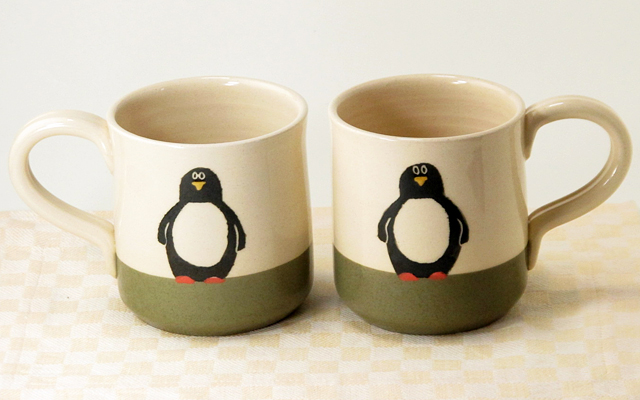 ペンギン マグカップ